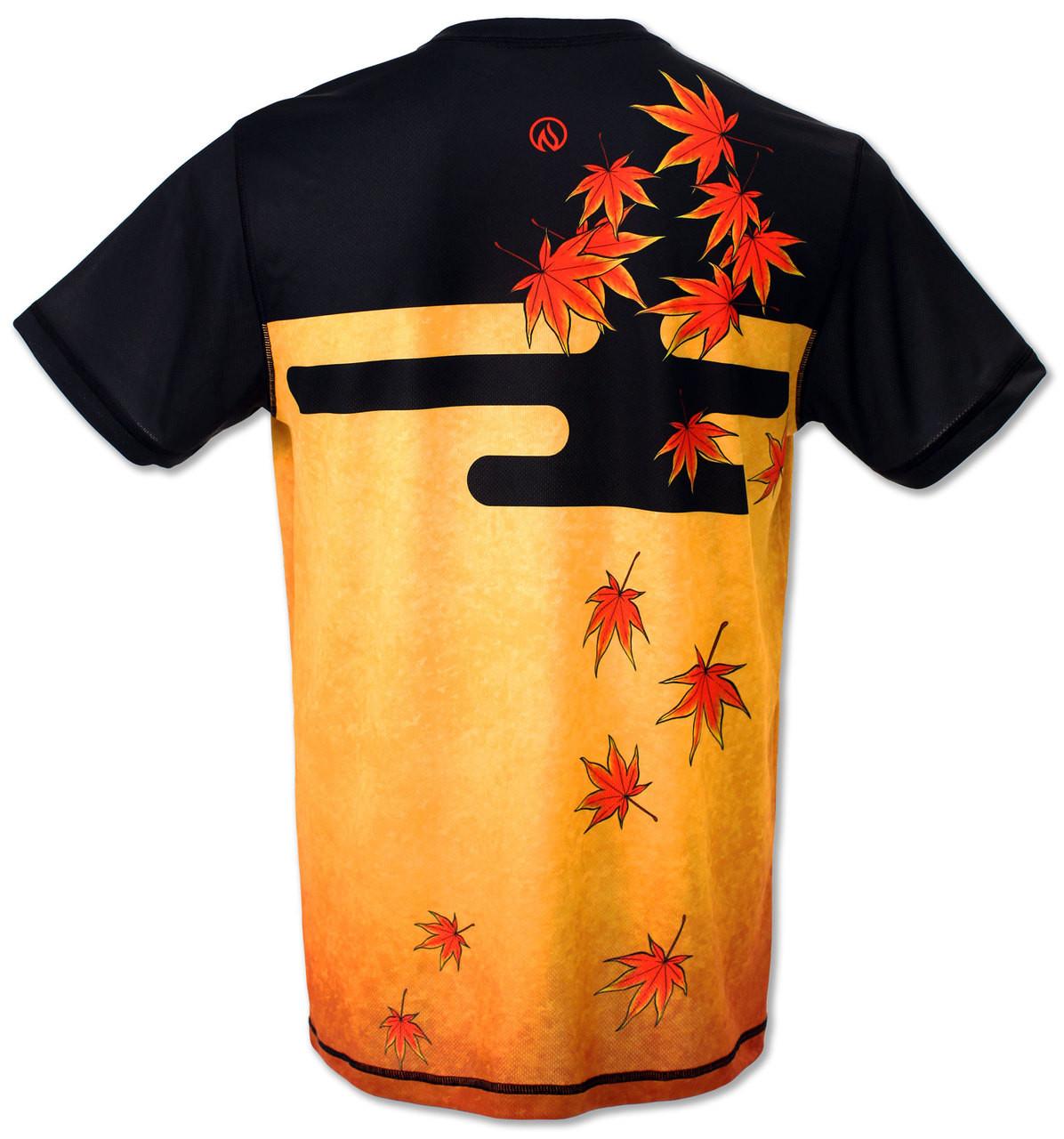 INKnBURN Men's Tiger Tech Shirt Back