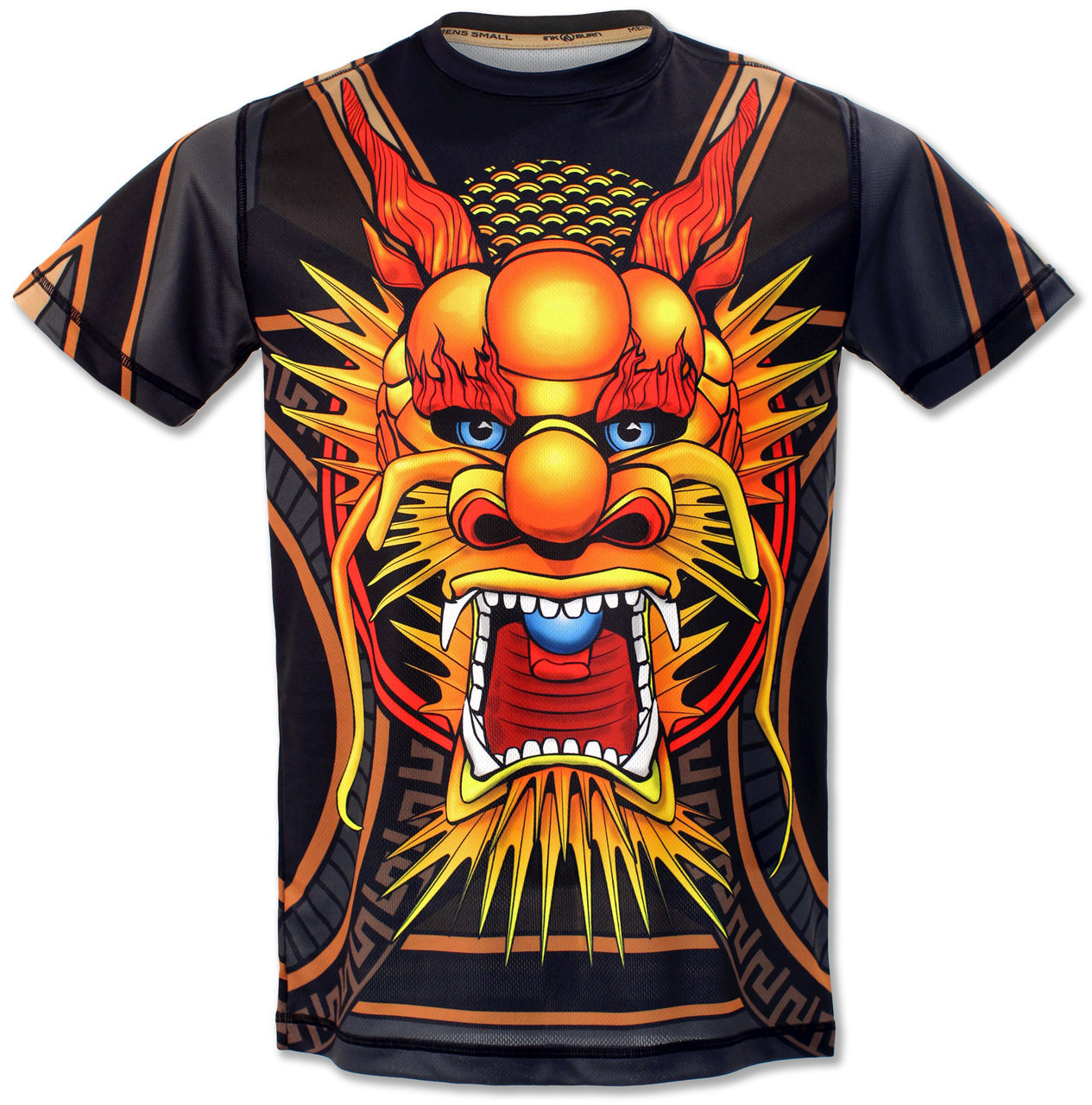 Men's Club INB Fire Dragon Tech Shirt Front