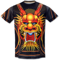 Men's Club INB Fire Dragon Tech Shirt Front