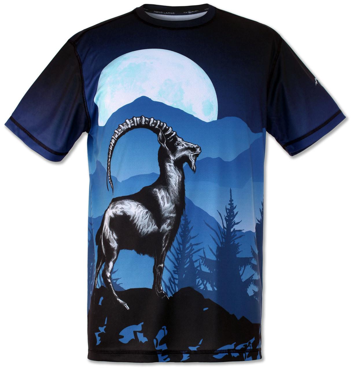Men's Mountain Goat Tee Tech Shirt Front