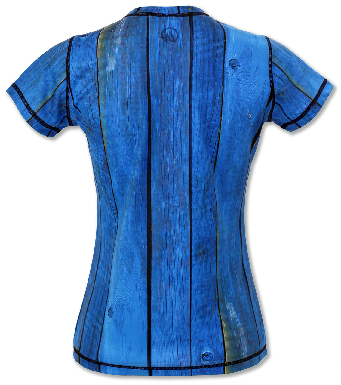 INKnBURN Women's Rooster Tech Shirt Back