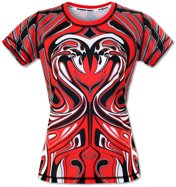 INKnBURN Swan Tech Shirt Front