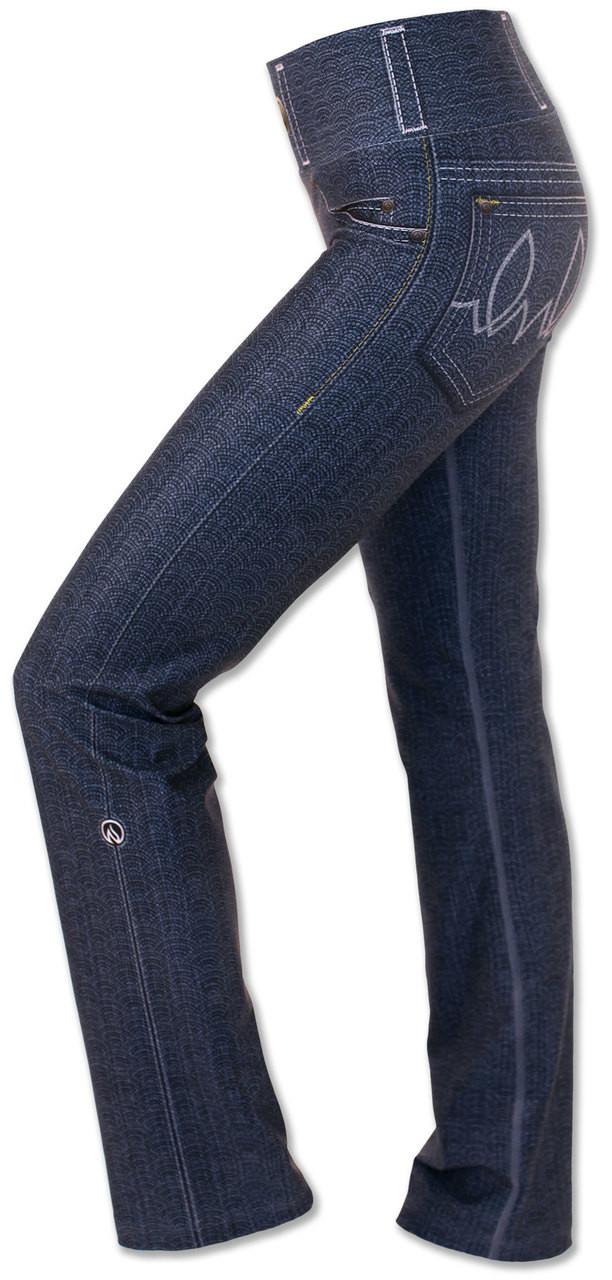 INKnBURN Women's 1124 Performance Denim Pants Left Side