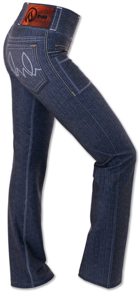 INKnBURN Women's 1124 Performance Denim Pants Right Side