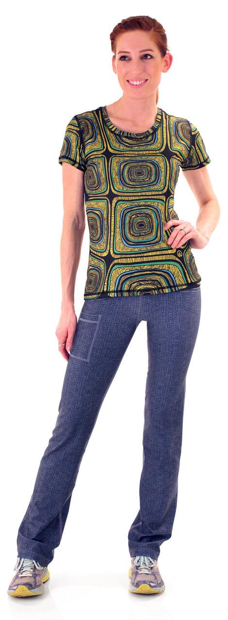 INKnBURN Turtle Tech Shirt and 1124 Performance Denim Pants