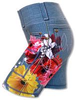 "INKnBURN Women's Wildflower 6"" Shorts"
