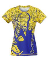 INKnBURN Women's Tokyo Marathon Tech Shirt