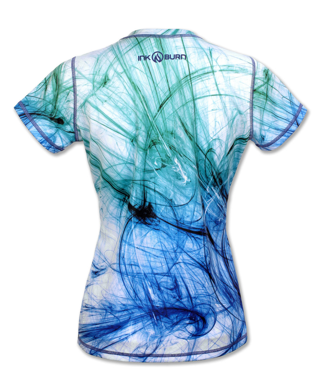INKnBURN Women's Sketch Tech Shirt Front