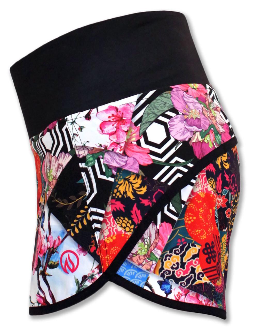 INKnBURN Women's Origami Shorts side