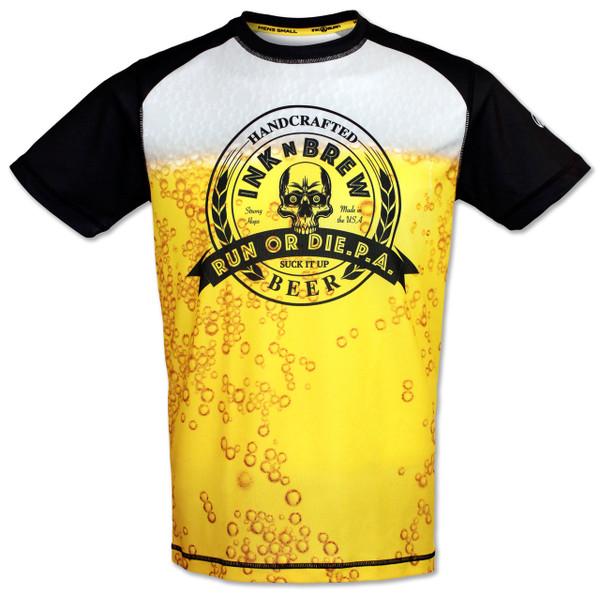 INKnBURN INKnBREW Tech Shirt Front