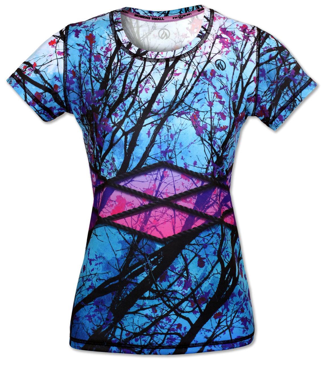 INKnBURN Branches Tech Shirt Front