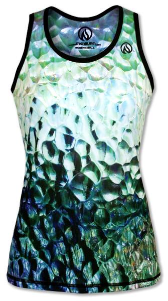 INKnBURN Women's Glass Singlet Front