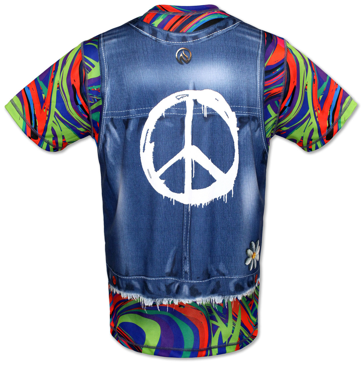 INKnBURN Peace Tech Shirt Back