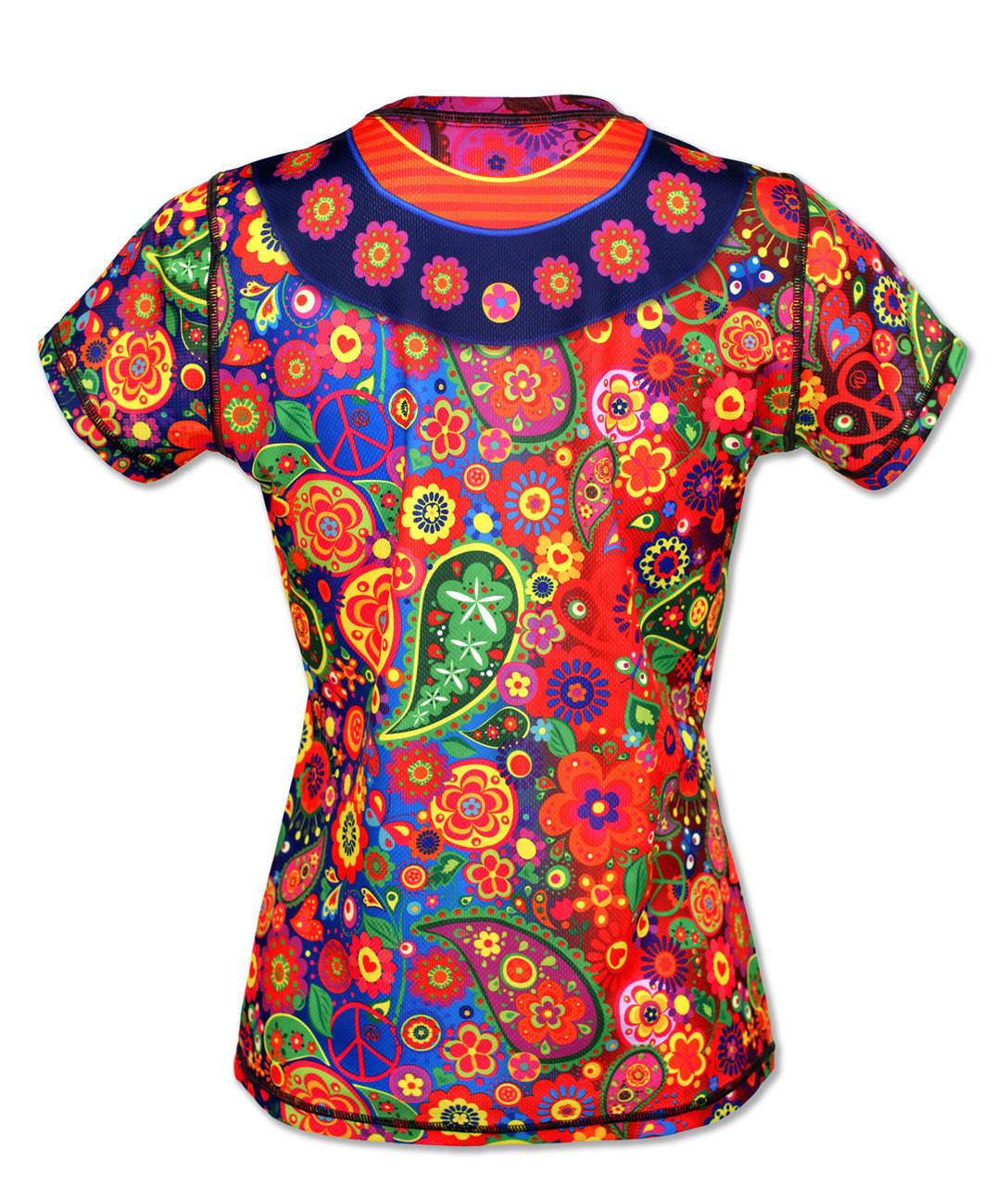 INKnBURN Peace Tech Shirt Back