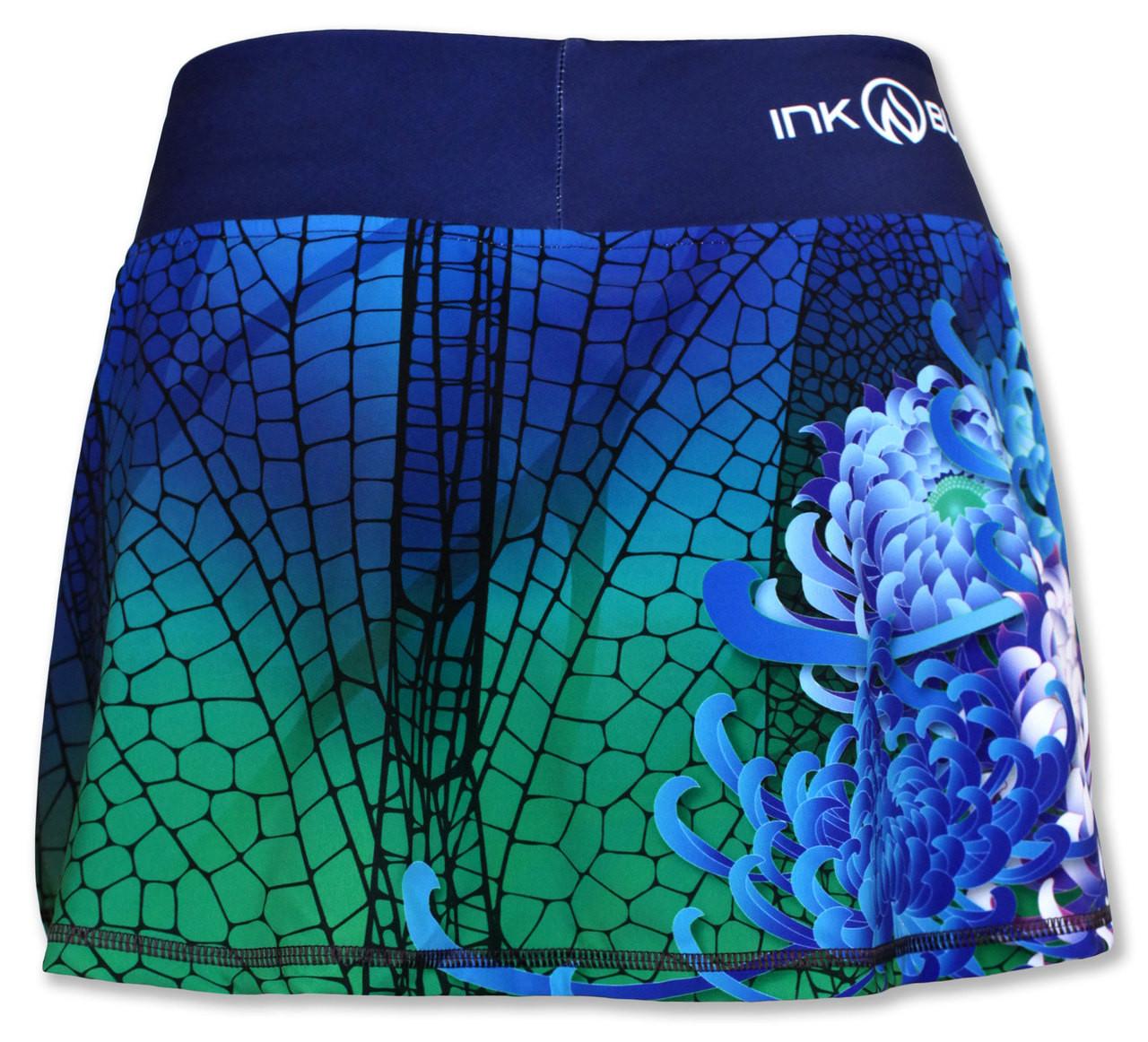 INKnBURN Dragonfly Sports Skirt Back
