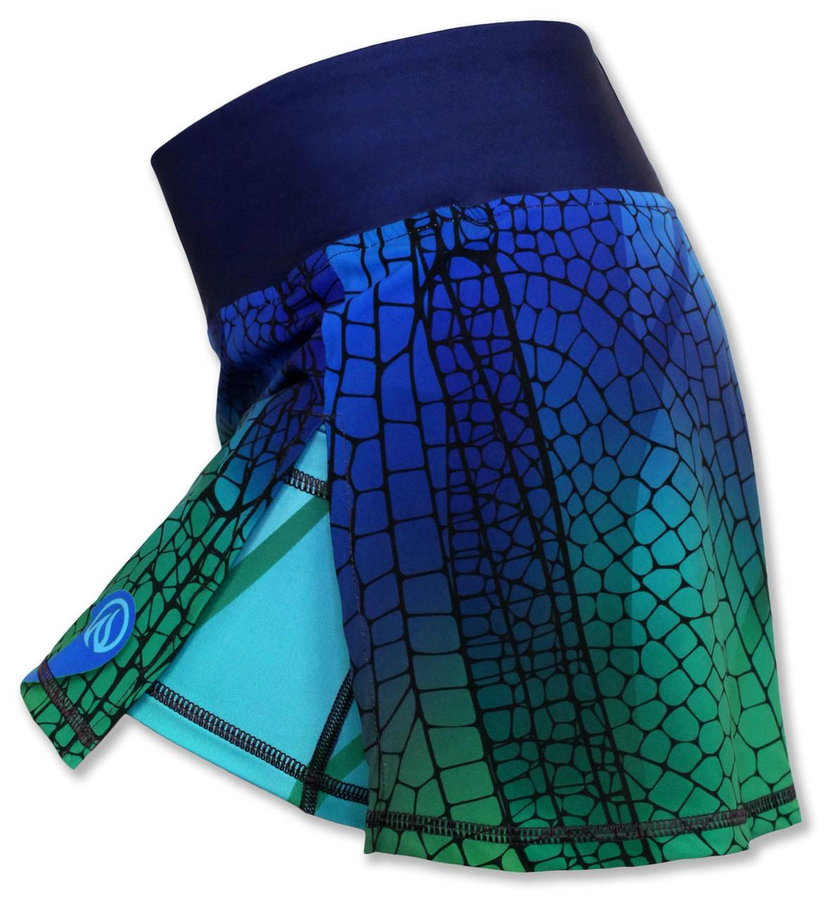 INKnBURN Dragonfly Sports Skirt Side