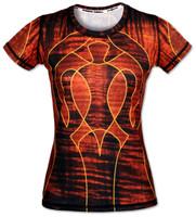 INKnBURN Women's Koa Tech Shirt Front