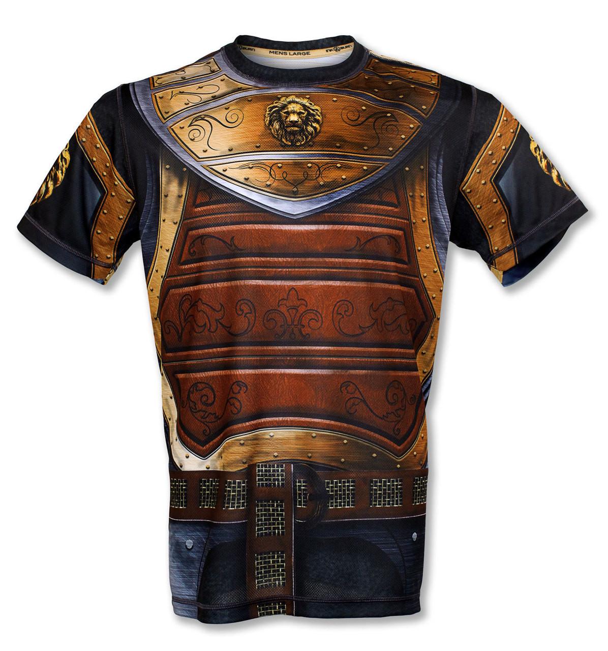 """INKnBURN Men's """"GOT Armor?"""" Tech Shirt Front"""