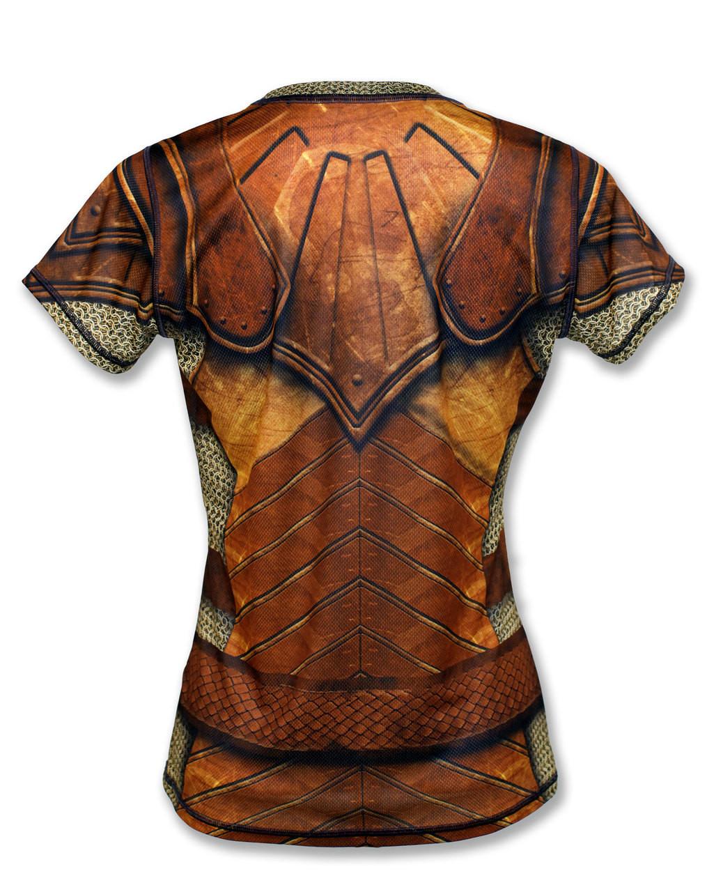 "INKnBURN Women's ""GOT Armor?"" Tech Shirt Back"