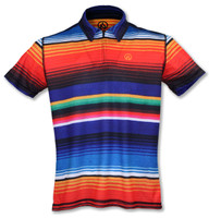 INKnBURN Men's Sarape Polo Shirt Front