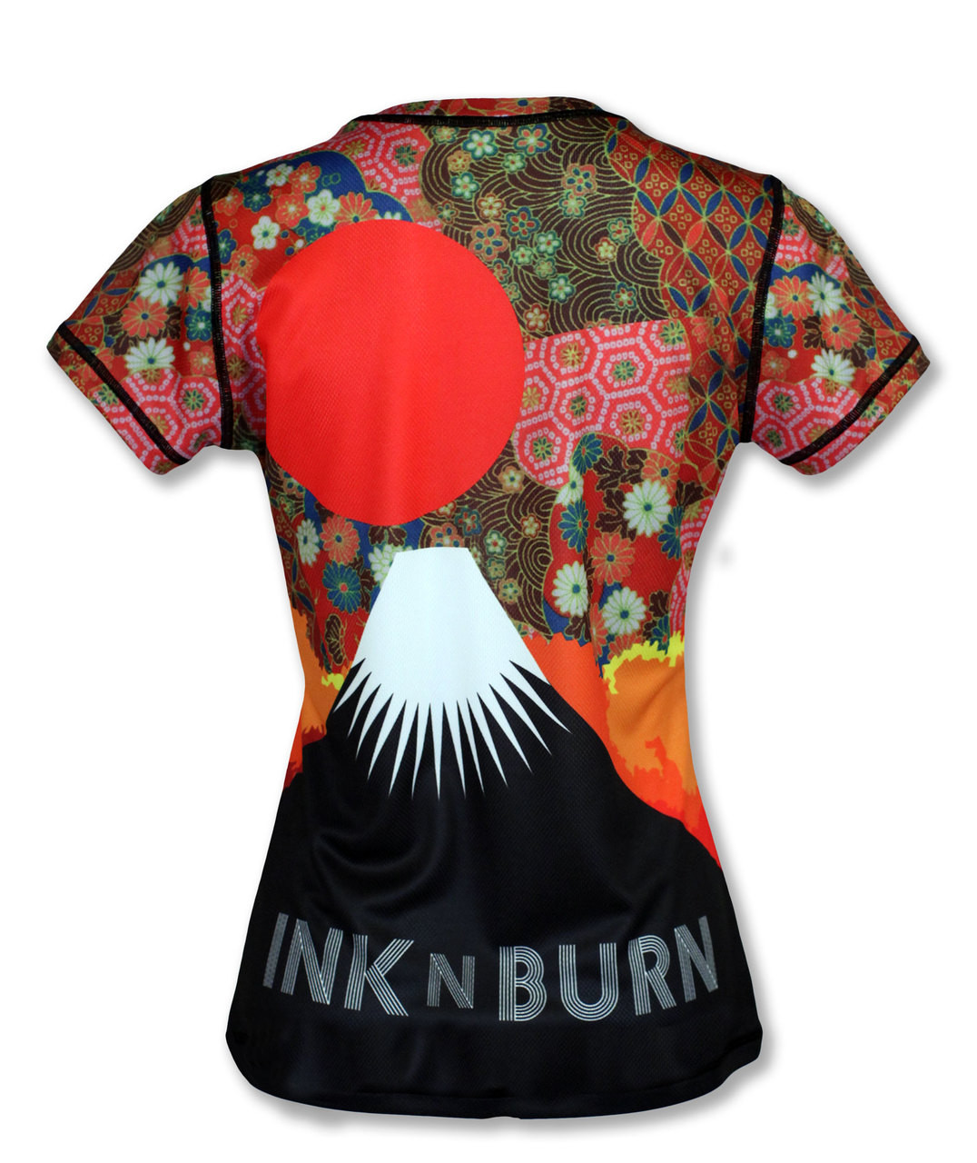 INKnBURN Women's Koyo Tech Shirt Front