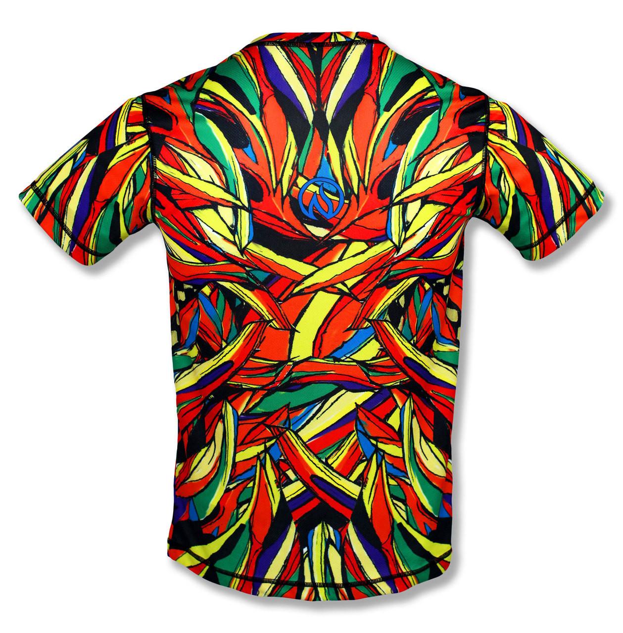 INKnBURN Men's Lion Tech Shirt Back