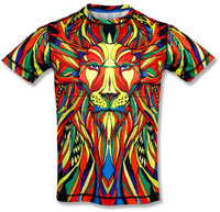INKnBURN Men's Lion Tech Shirt Front