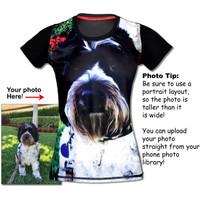 Women's Pet Portrait Tech Shirt
