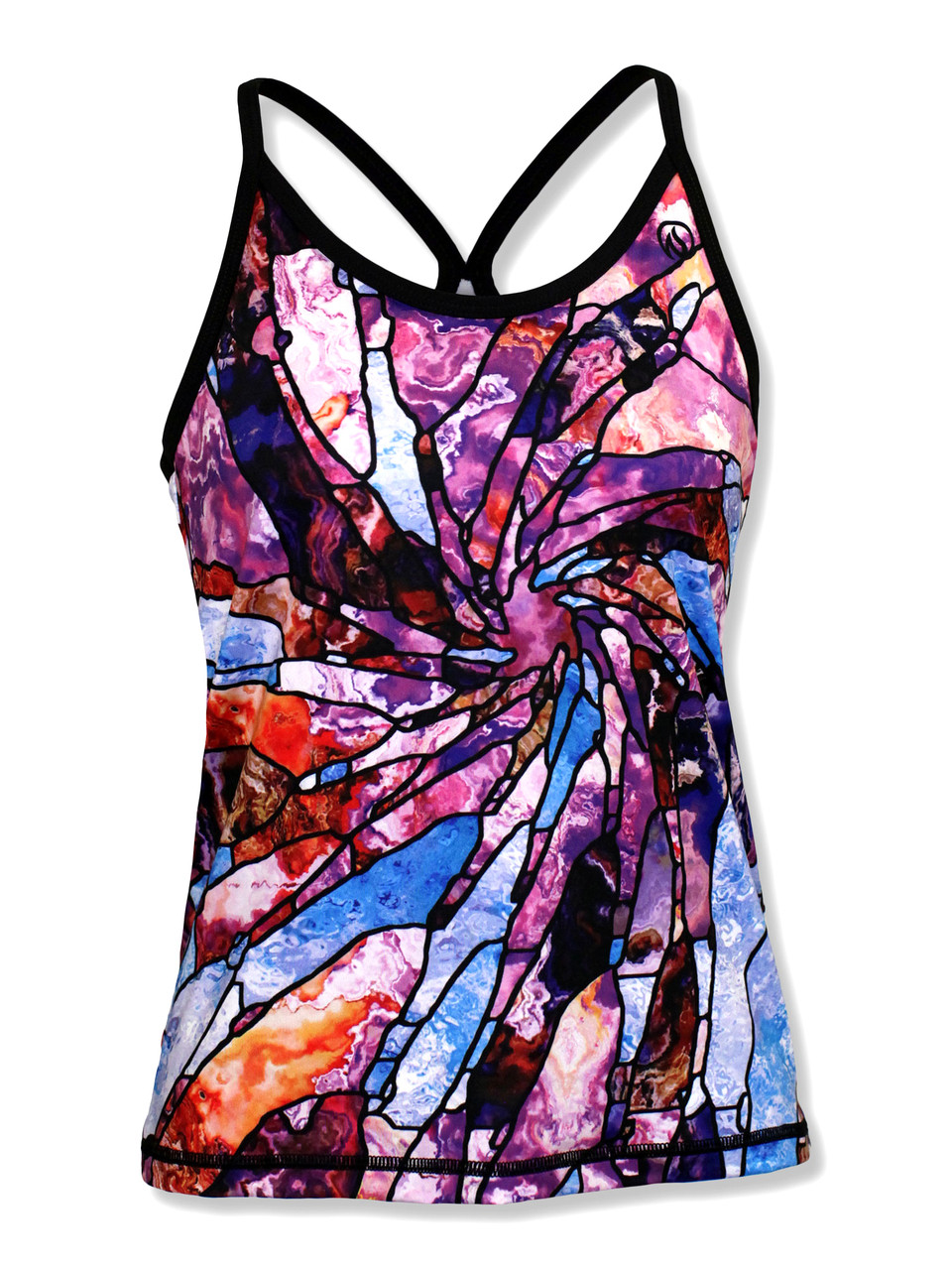 INKnBURN Women's Stained Glass Camisole Front