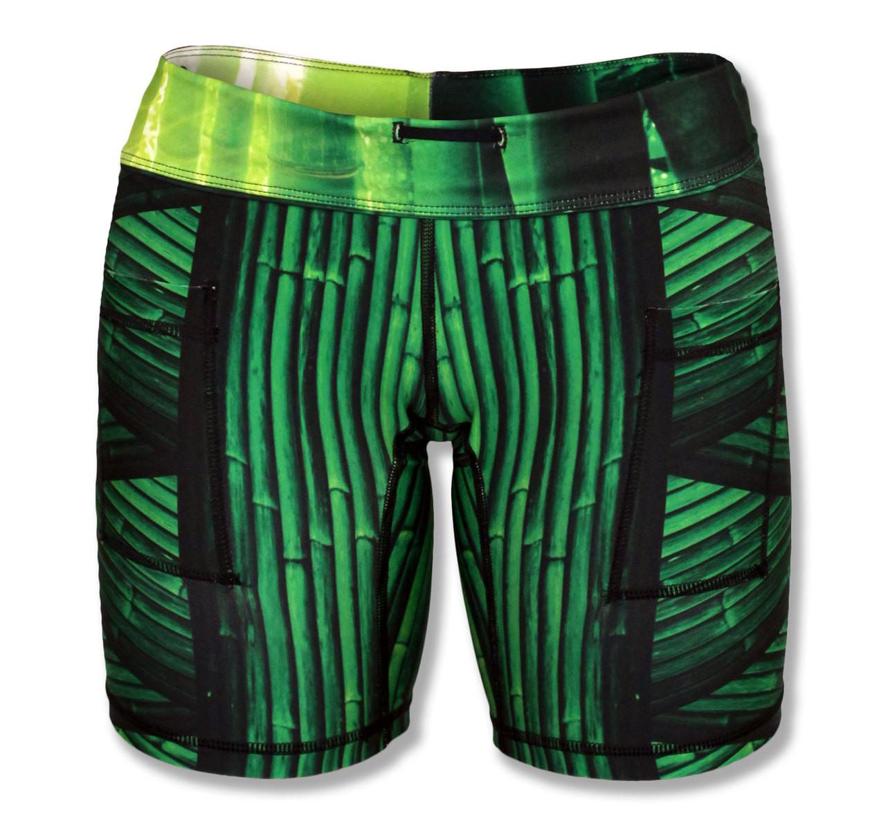 """INKnBURN Lucky Bamboo 6"""" Shorts"""
