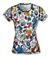 INKnBURN Women's Lucky Tech Shirt