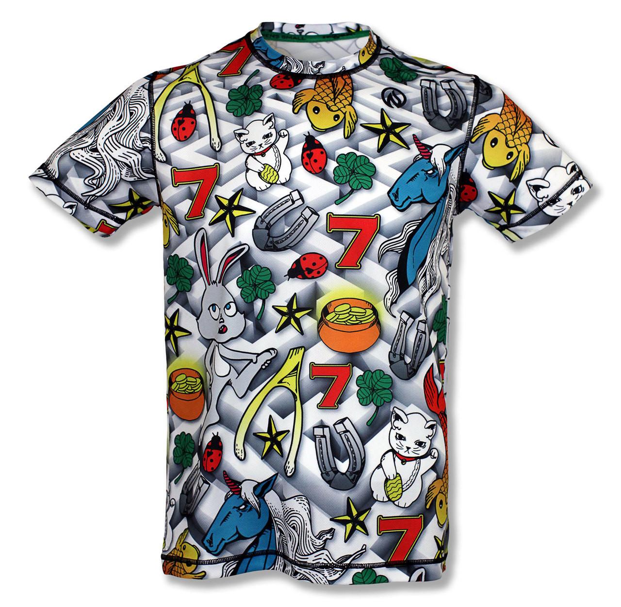 INKnBURN Men's Lucky Tech Shirt Front
