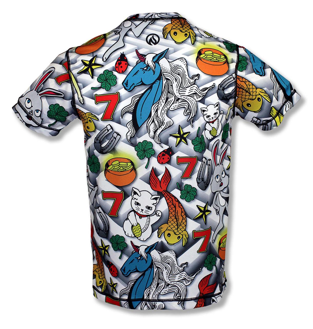 INKnBURN Men's Lucky Tech Shirt Back