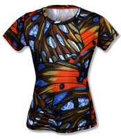 INKnBURN Butterfly Tech Shirt Front