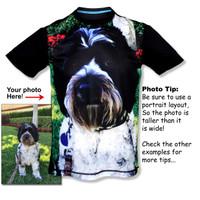 Men's Pet Portrait Tech Shirt