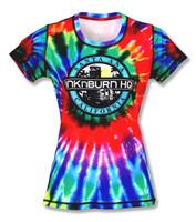 INKnBURN Women's Tie Dye Tech Shirt Front