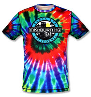 INKnBURN Men's Tie Dye Tech Shirt Front