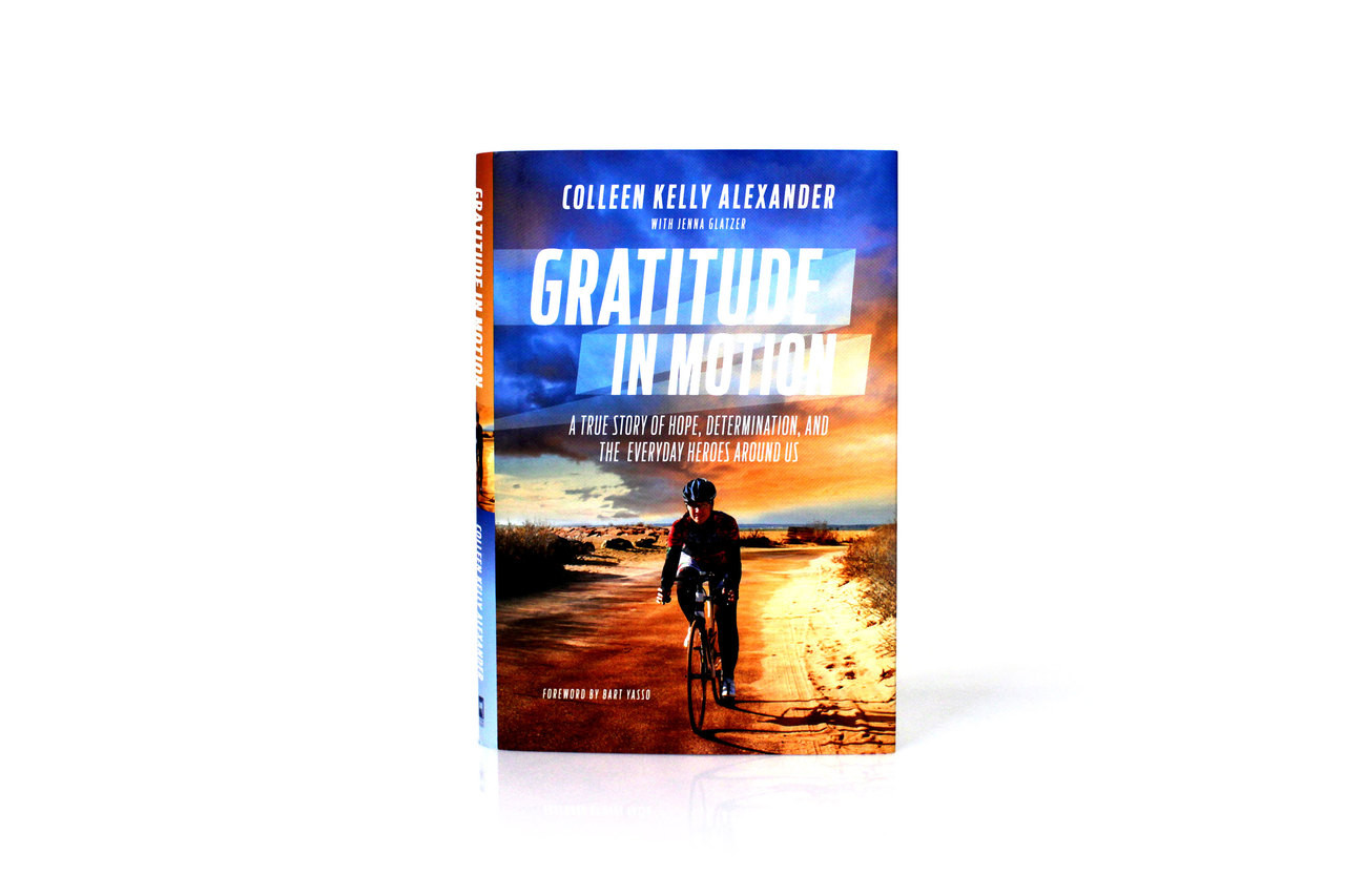 Gratitude In Motion Hard Cover Book By Colleen Alexander
