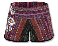 INKnBURN Women's Boho Daisy Shorts