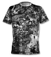 INKnBURN Men's Dragon Tech Shirt