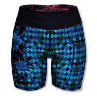 "INKnBURN Dragon Scale 6"" shorts"