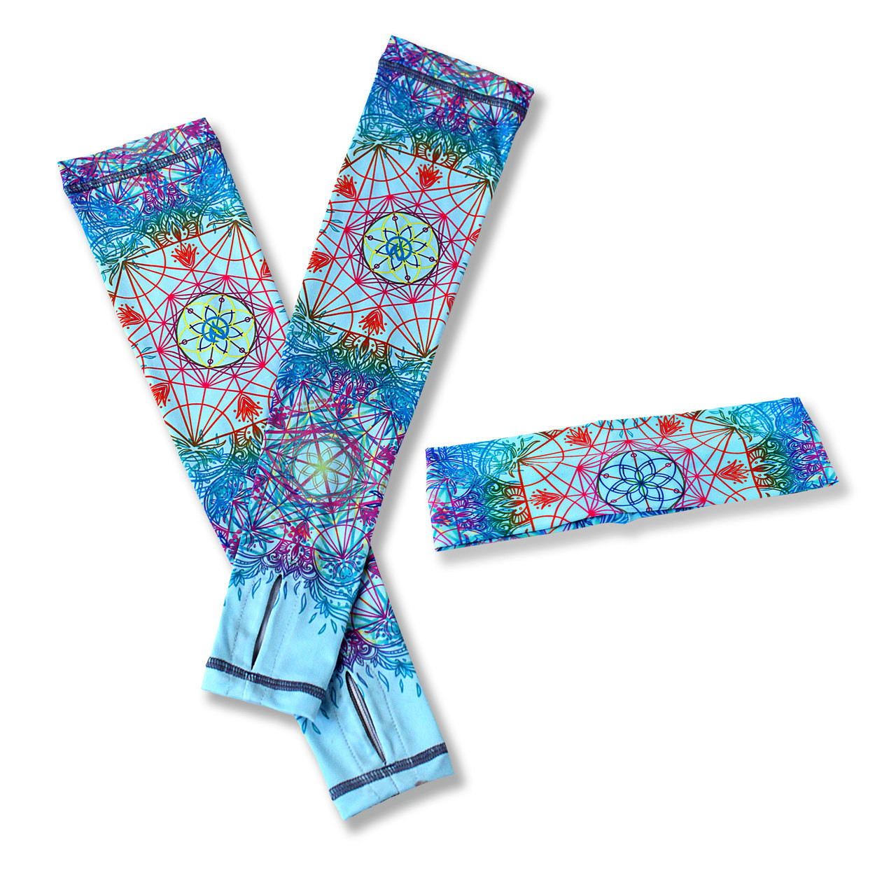INKnBURN Resonate Arm Sleeves & Headband