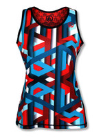 INKnBURN Women's Stripes Singlets