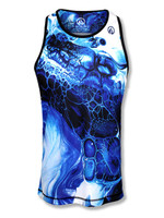 Men's Blue Ink Singlet