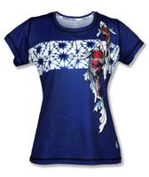 INKnBURN Women's Koi Tech Shirt
