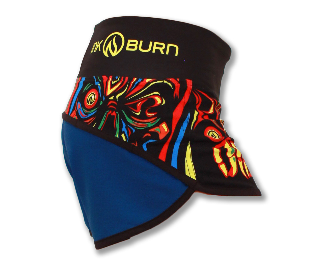 INKnBURN Women's Run or Die Shorts Right Side Waistband Up