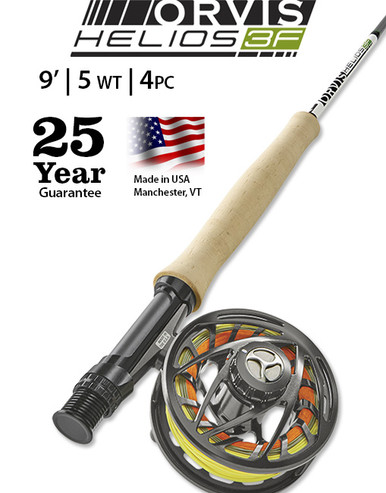 Orvis Helios 3F (Finesse) 905-4 Fly Rod