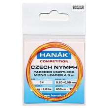 Hanak Competition Czech Nymph Leader- Bi-Color