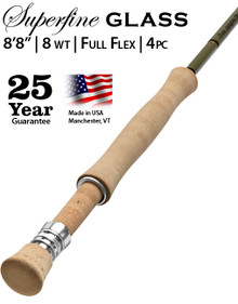 Orvis Superfine Glass 888-4 Fly Rod