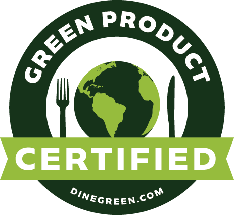 Certified by the Green Restaurant Association